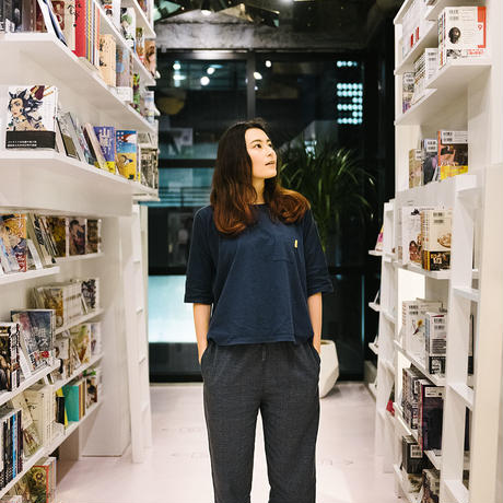 "Nells × MANGA ART HOTEL,TOKYO  オリジナルパジャマ ""KOMAGOMA"" TOPS / PANTS (M SIZE)"