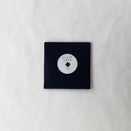 PLAIN CARD-NAVY