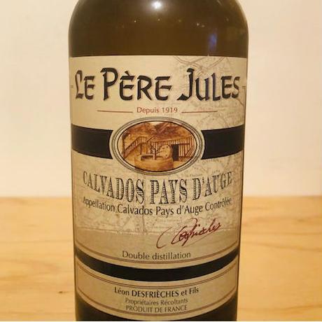 【カルバドス】🇫🇷 LE PERE JULES calvados 3年 / ルペールジュール カルバドス3年