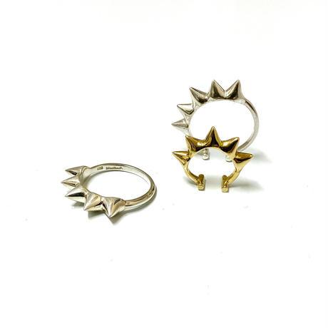 【受注生産】Ear cuff |Ring|BIGスタッズ |ゴールド