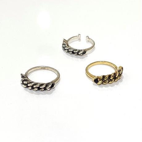 【受注生産】Ear cuff |Ring|チェーン |シルバー