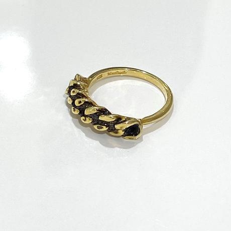 【受注生産】Ring|チェーン |ゴールド