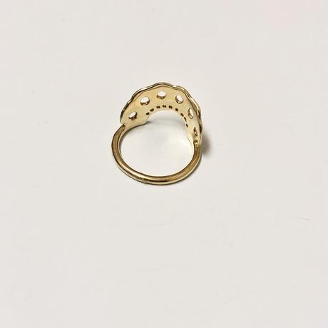 【受注生産】Flame ring lace ring