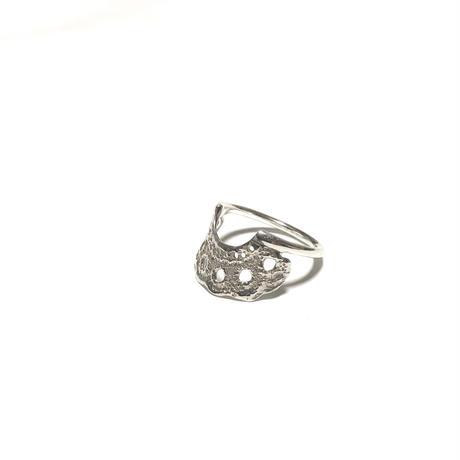 【受注生産】Flame ring|lace ring|メッキ無し