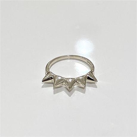 【受注生産】Ear cuff |Ring|BIGスタッズ|シルバー
