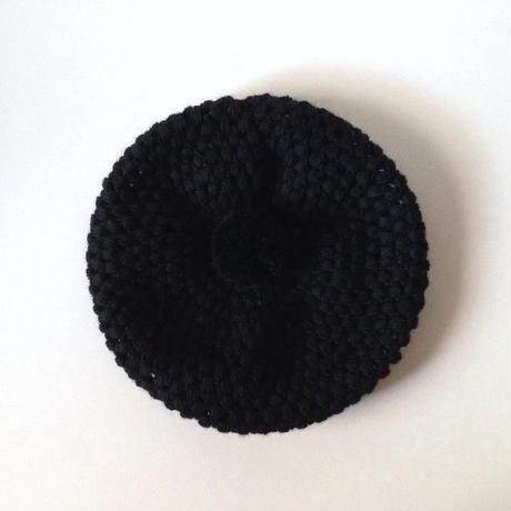 ニット帽|玉編みベレー