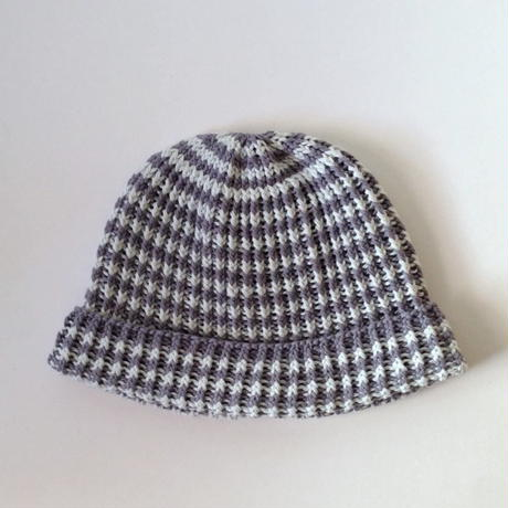 ニット帽 |ボーダー