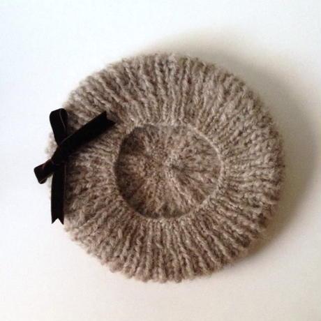 ニット帽|モヘアベレー