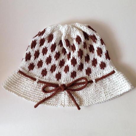 ニット帽 |水玉クロッシュ