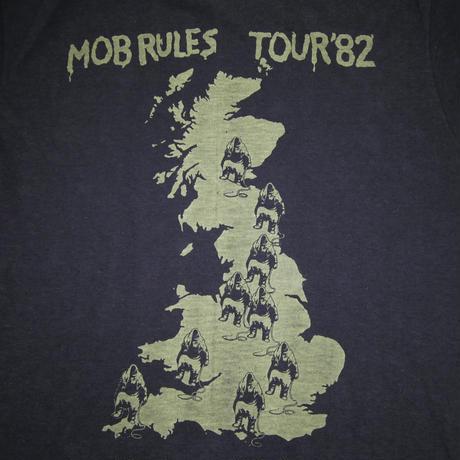 BLACK SABBATH MOB RULES TOUR'82  VINTAGE  T-SHIRT