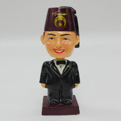 FREEMASONRY BOBBLE HEAD