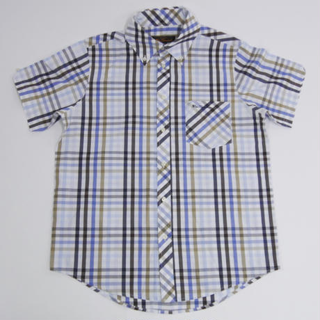 BEN SHERMAN CHECK BUTTON DOWN SHIRT