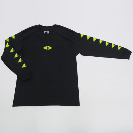 MOONRISE REPTILE   LONG SLEEVE T-SHIRT