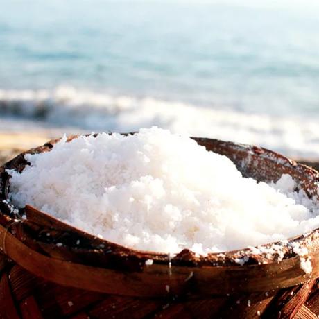 TEJAKULA 完全天日塩 [あら塩] 150g <完全天日海塩・フェアトレード> ✫なんでも美味しくなっちゃう本物のお塩✫