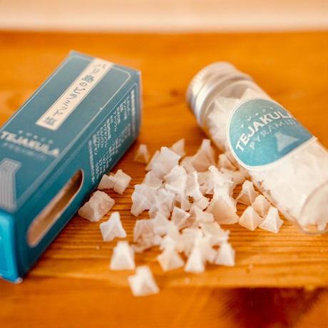 TEJAKULA ・完全天日海塩 <ピラミッド> 携帯ビン入り 7g *奇跡のピラミッド型天然結晶塩*