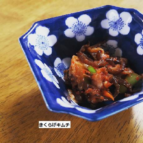 【おすすめレシピ付】ぷるぷるやみつき食感!花のように美しい生きくらげ(黒)100g×5袋