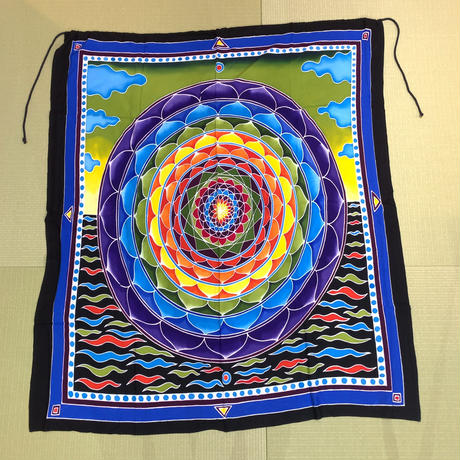 瞑想の布【バリ島名産】曼荼羅