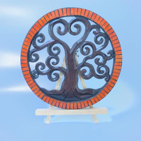 『ファミリーセーブ』生命の樹 ツリーオブライフ 【ブラウンツリー大】