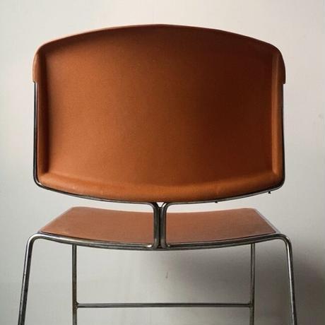 Steelcase社製 スタッキングチェア 50s 60s ミッドセンチュリー スチールケース  古い椅子 アメリカヴィンテージ USA ダイニング