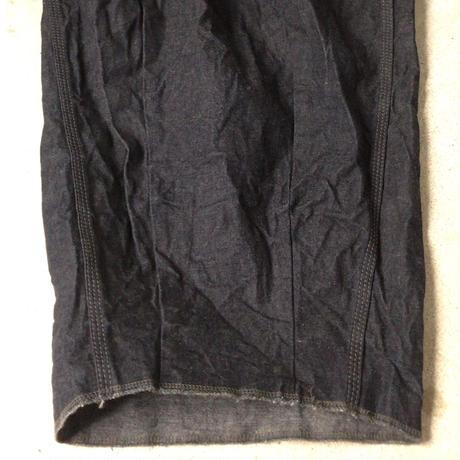 ネペンテス(needles・ニードルス) H.D. PANT  ヒザデルパンツ デニム  ペインターパンツタイプ レディース  サイズ 1  中古極美品