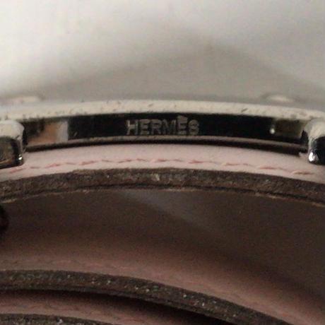 HERMES エルメス コンスタンス Hバックル  Hベルト5382  タデラクト  ピンク/ゴールド  リバーシブル  シルバー金具  L刻印  2008年製   85 /32mm幅  中古美品