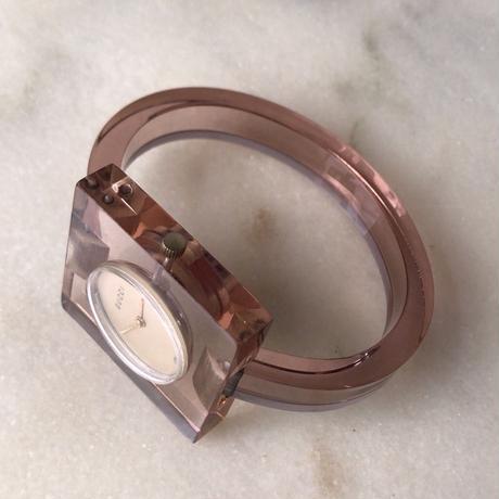 GUCCI  オールドグッチ  クリア バングル時計  ヴィンテージ  手巻き  動作確認済み