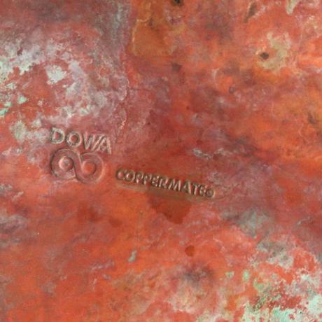 DOWA coppermate  ドーワ コッパーメイト 純銅ケトル  木の持ち手・木の摘み  ヴィンテージやかん  アンティークキッチンツール