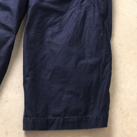 ネペンテス(needles・ニードルス) H.D. PANT  ヒザデルパンツ  ファティーグパンツタイプ  ネイビー  レディース  サイズ1  中古極美品