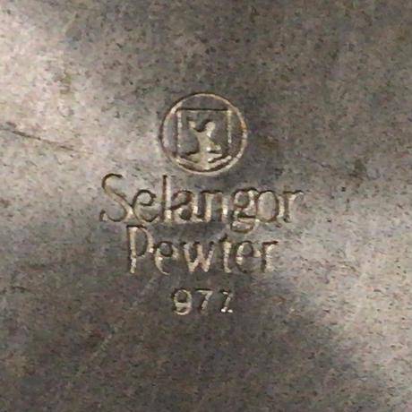Selangor Pewter ヴィンテージ セランゴールピューター  槌目仕上げ  ビアマグ  ジョッキ
