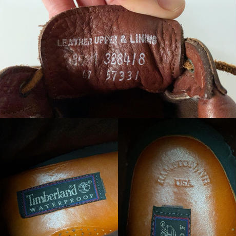 Timberland オールドティンバーランド レディース レザーブーツ 23.5〜24m位の方がジャストかと思われます。 made in USA