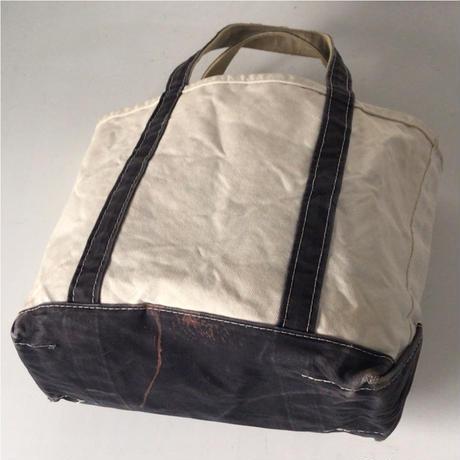 LLBean LLビーン エルエルビーン Boat & Tote  ボート&トート  バッグ  鞄  USA製 ナチュラル/ブラック Used  中古品