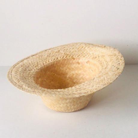 タイの麦わら帽子 未使用品