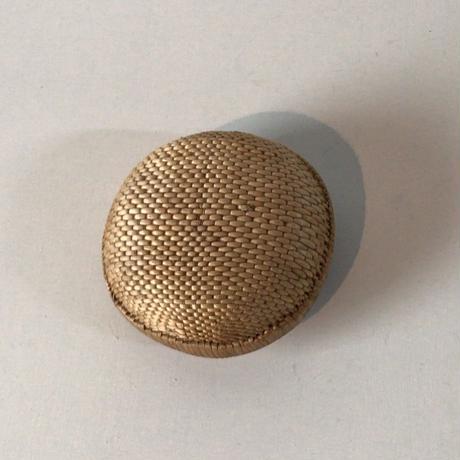 柳行李 小物入れ 丸型・円型ドーム 飯行李 手仕事 工芸品 民藝 柳編み