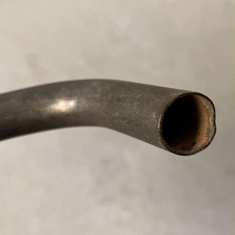 真鍮製杵型摘みヴィンテージ蛇口 スイングアーム  古い蛇口 パーツ 古道具 30s 40s 50s 戦前
