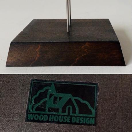 WOOD HOUSE DESIGN ウッドハウスデザイン 鷺 ムービングウッドドール