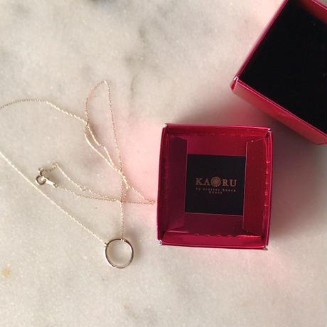 KAORU カオル  ゴールドネックレス  K10YG 箱有り 中古極美品