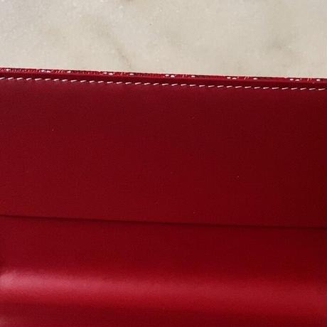 GOYARD ゴヤール  手帳カバー ルージュ 赤 ボルドー CAMBONPMLTY02   15 ×9.5cm 中古美品