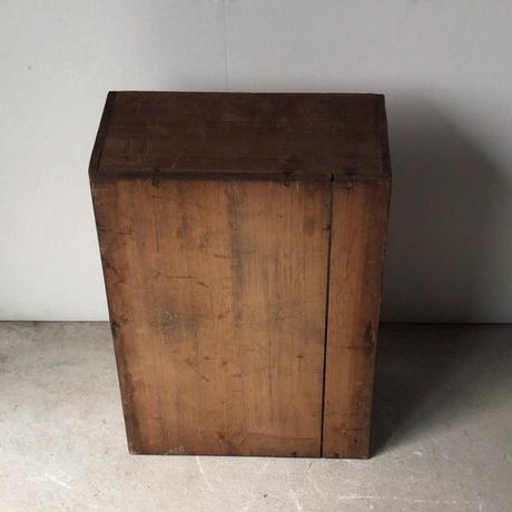 エスサイダー  Sサイダー  アンティーク木箱  戦前逆文字 大正 昭和  蓋無し  ヴィンテージウッドボックス 道具箱  美品