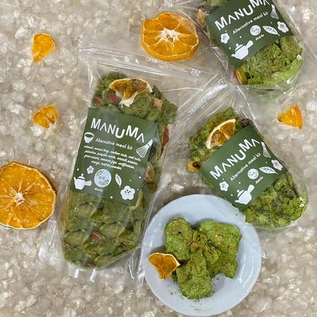 「期間限定」MANUMAグラノナッツ(45g)【抹茶】