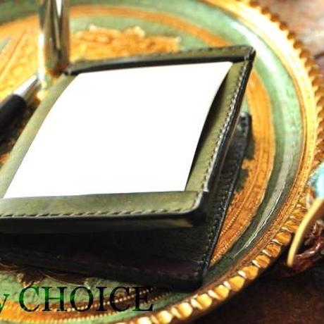 イタリアンレザー・革新のプエブロ・ジョッターケース (5×3サイズ)2色