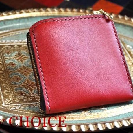 イタリアンオイルレザーアリゾナ・L型財布(マルボロ)