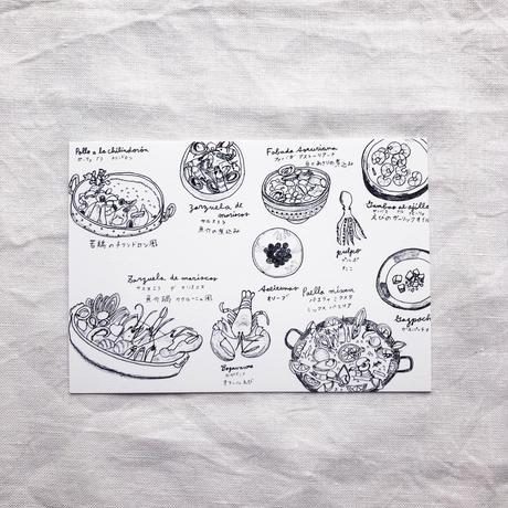 ポストカードセット:I 料理