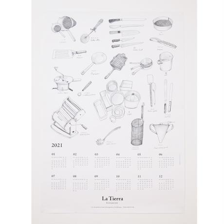 La Tierra 2021 カレンダー【送料込み】