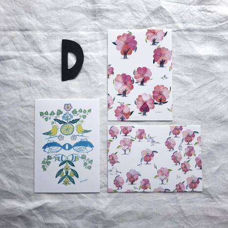 ポストカードセット:D 音の絵