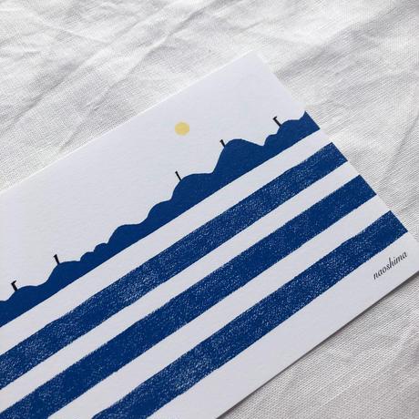 ポストカードセット:C シマシマ