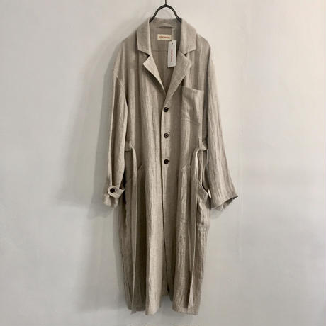 linen-wool work coat
