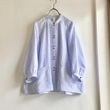 flopsy P blouse   (blue stripe)