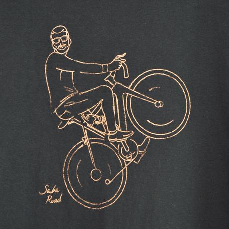 バイク鯖Tシャツ ブラック