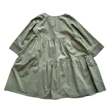 doll style dress - light corduroy MINT