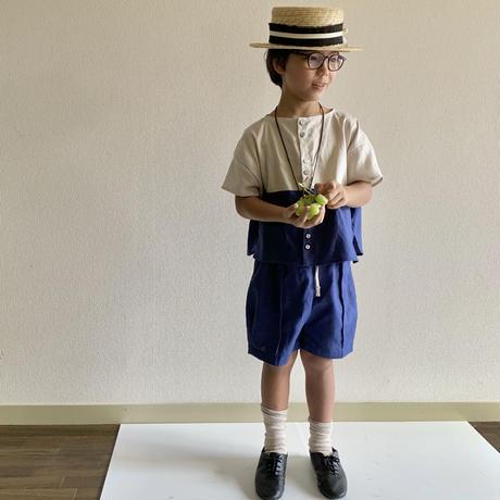 KIDS: wide short PT 110cm   - BLUE